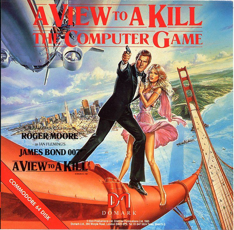 A View to a Kill: The Computer Game