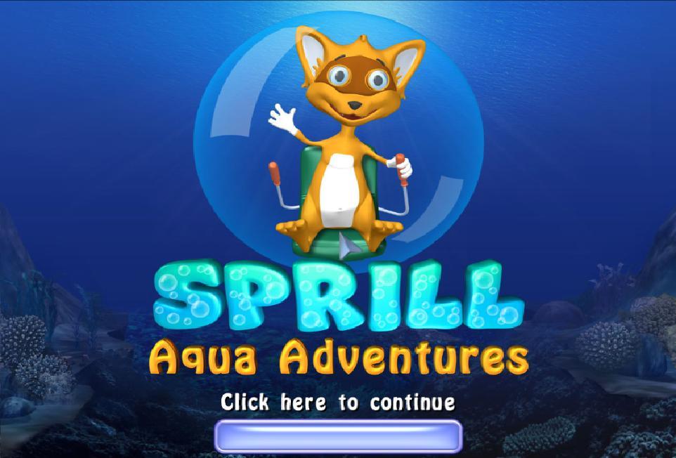 Игра Sprill. . Aqua Adventures (Сприлл. . Подводное приключен